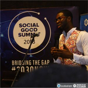 Social Good Lagos 2018-Abraham-Ologundudu-Co-Founder