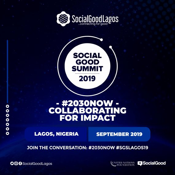 Key stakeholders discuss Collaborating for Impact at the 2019 Social Good Summit in Lagos